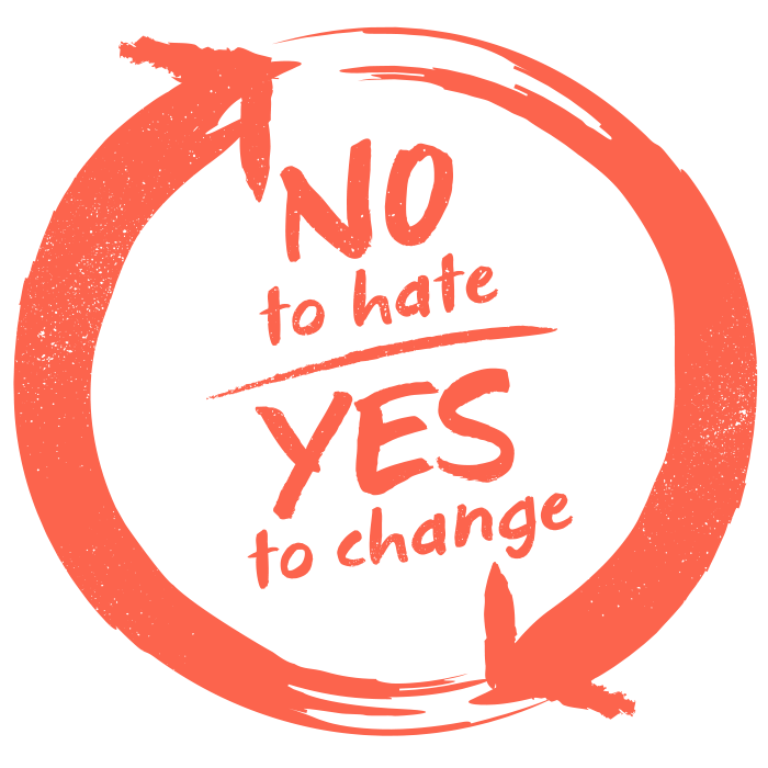 No to Hate, Yes to Change!